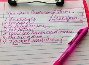 Throw out your new year's resolutions